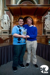The Winners of Vienna IV 2011: Austin Schwartz & Travis Steele from Team Colgate Extra Weiss