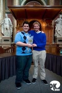 The Winners of Vienna IV 2011: Austin Schwartz & Travis Steele from Team Colgate Extra Weiss